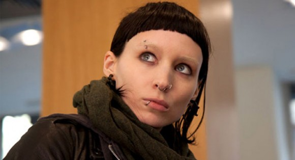Rooney Mara, seen here as Lisabeth Salander in 'The Girl With the Dragon Tattoo