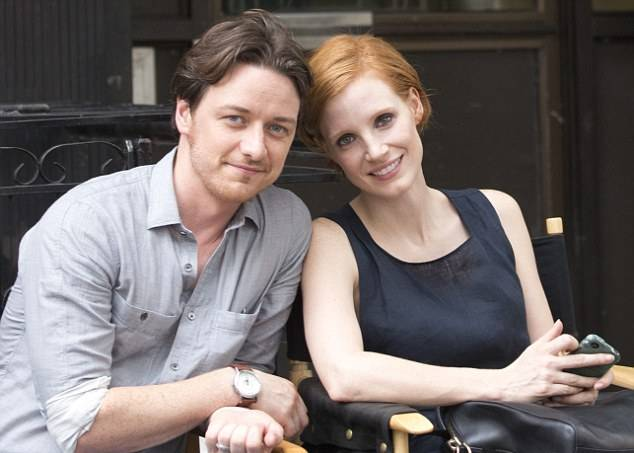 James McAvoy and Jessica Chastain star in 'The Disappearance of Eleanor Rigby - His and H'.ers