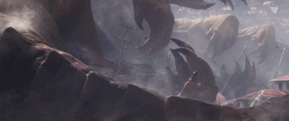 Godzilla Victim