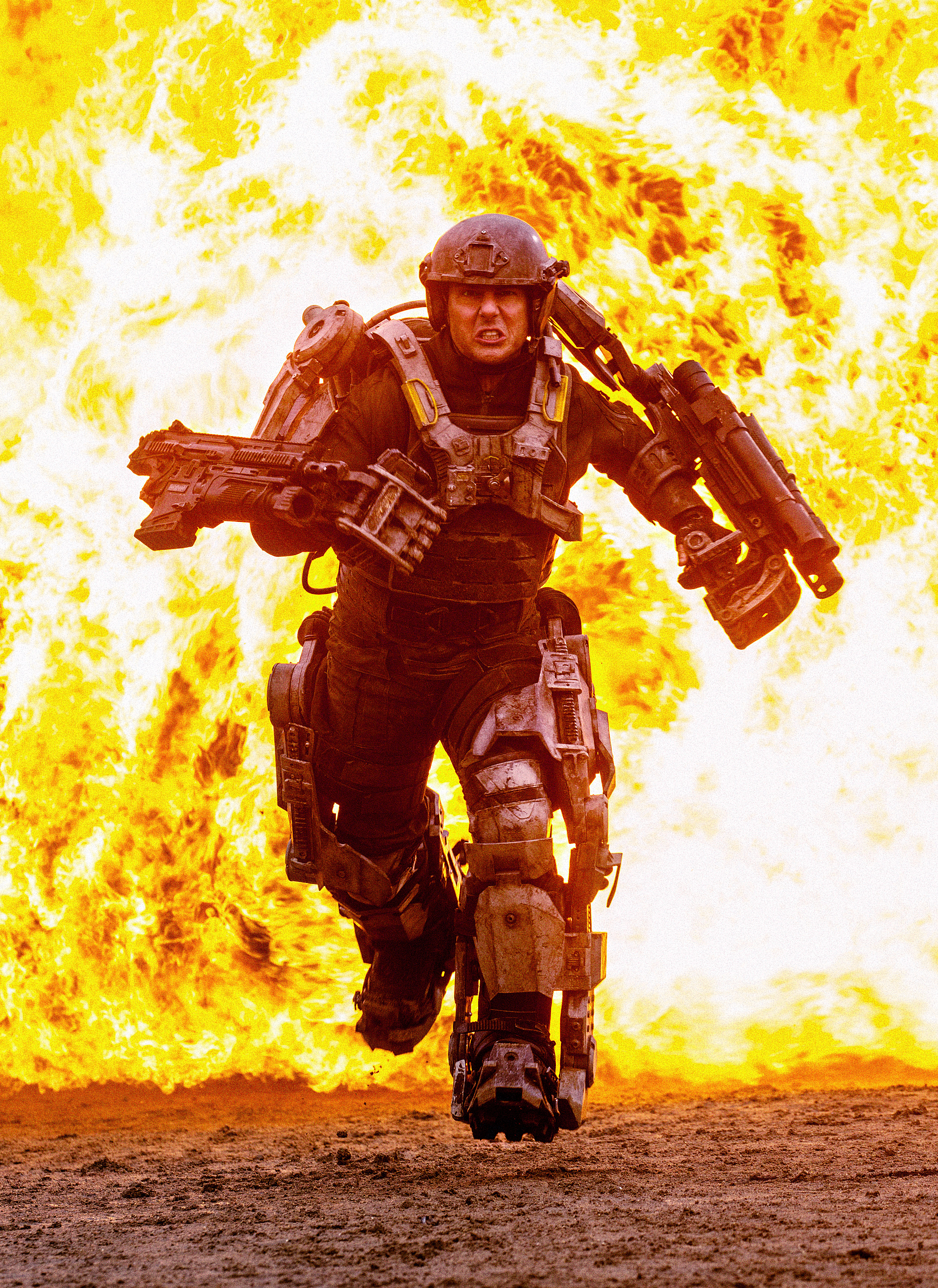 Tom Cruise Caught In A Time Loop In 'Edge of Tomorrow ...