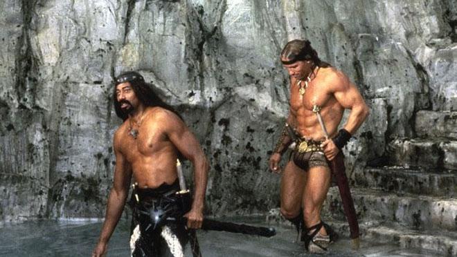 Conan The Destroyer Wilt Chamberlain Wilt Chamberlain and Arnold