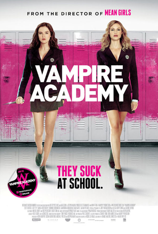 �vampire academy� gets a new poster mxdwn movies