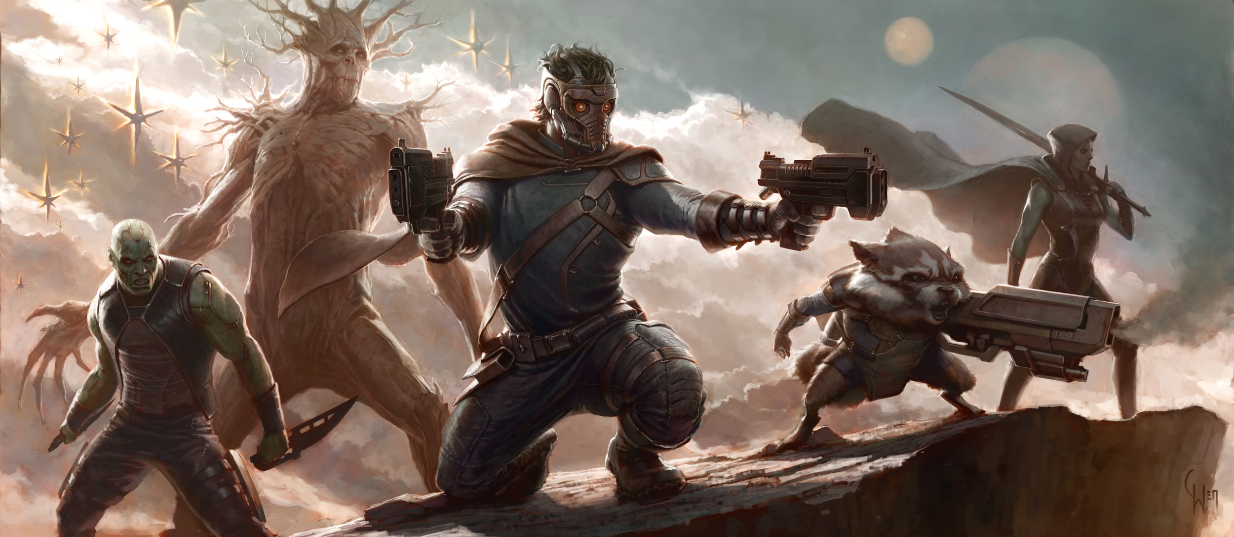 Meet the cast of guardians of the galaxy mxdwn movies