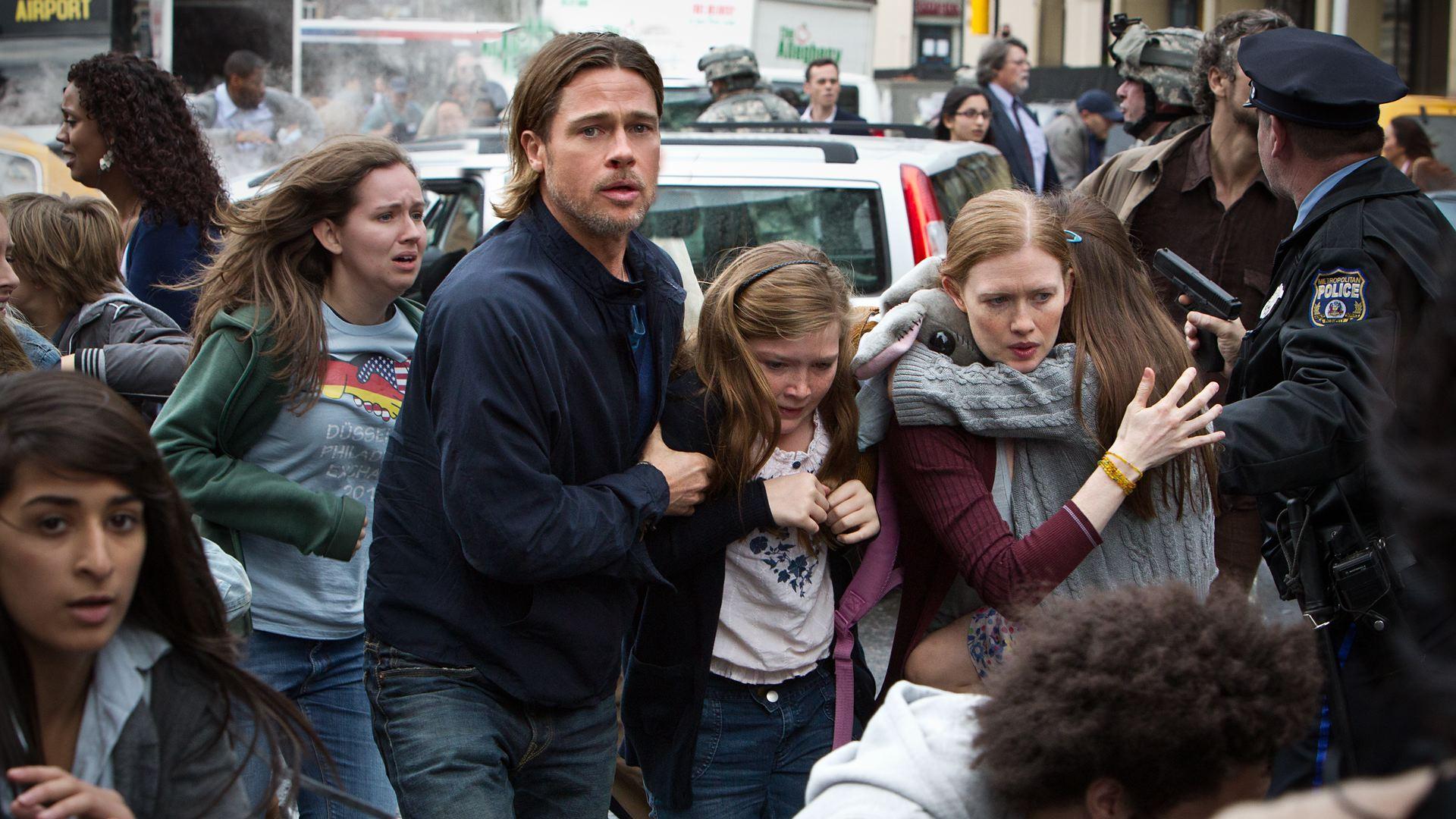 Brad Pitt Eyes Down David Fincher for 'World War Z' Sequel