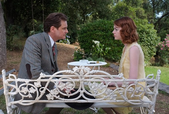 Colin Firth and Emma Stone in 'Magic in the Moonlight'