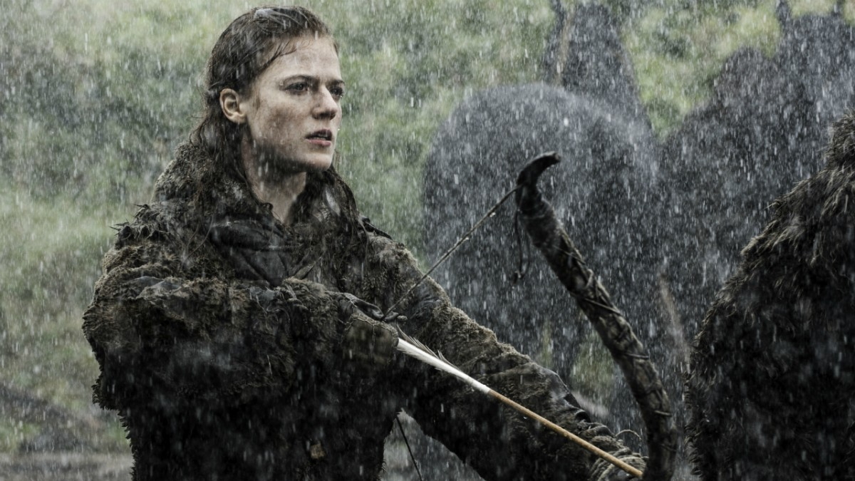 All rose leslie game of thrones not clear