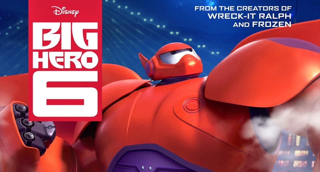 Big hero 6 is barnstorming into theaters on a couple of big elevator