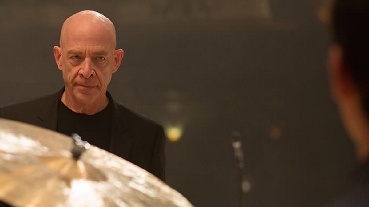 J.K Simmons as Fletcher in Whiplash