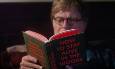 """Robert Redford and Nick Nolte Brave the Appalachian Trail in """"A Walk in the Woods' Trailer"""