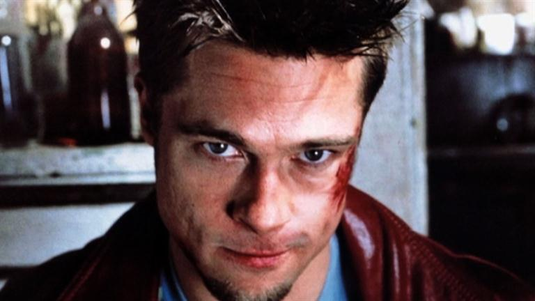 who was brad pitt dating during fight club
