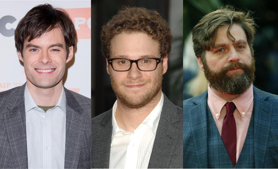 Seth Rogen, Zach Galifianakis, and Bill Hader Starring in 'The Something'