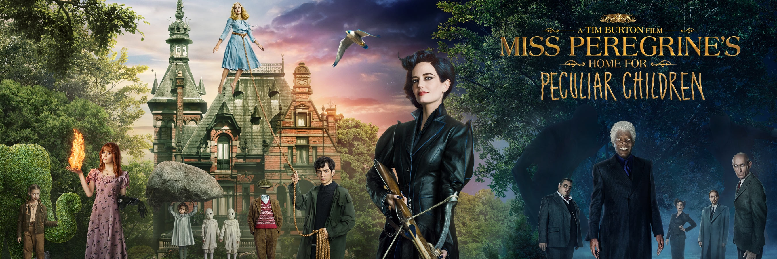 Check Out the New Trailer for 'Miss Peregrine's Home for Peculiar Children'