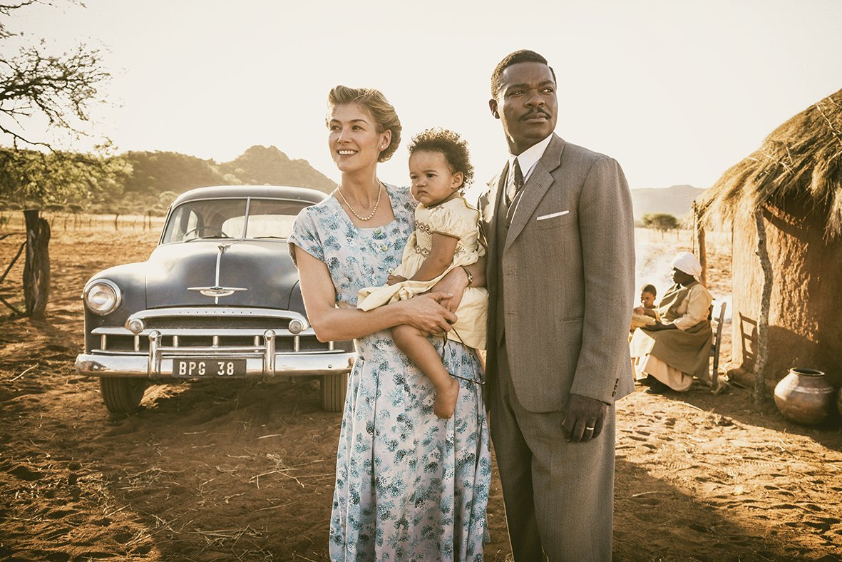 'A United Kingdom' Trailer: David Oyelowo & Rosamond Pike's Love Knows No Bounds