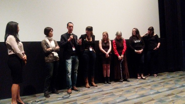 Cast and Crew at the screening of the film