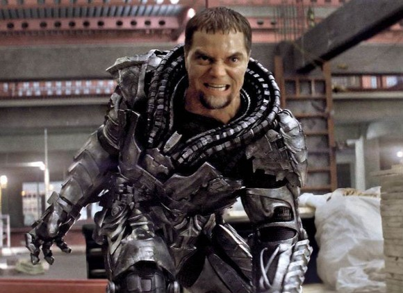 Michael Shannon as General Zod in 'Man of Steel'