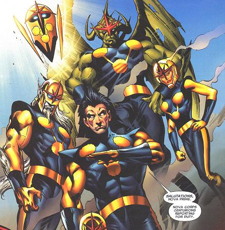 Marvel Comics' Nove Corps