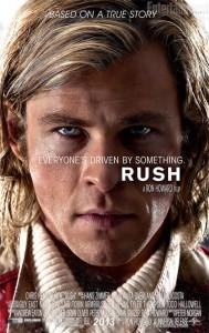 Chris Hemsworth as driver James Hunt