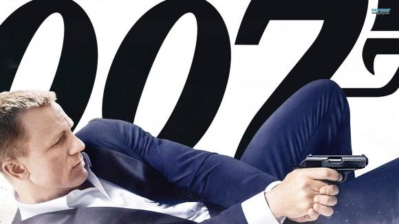 Daniel Craig as James Bond in the last installment of the Bond franchise, 'Skyfall'
