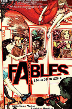 One of the covers of DC Comics' 'Fables' series