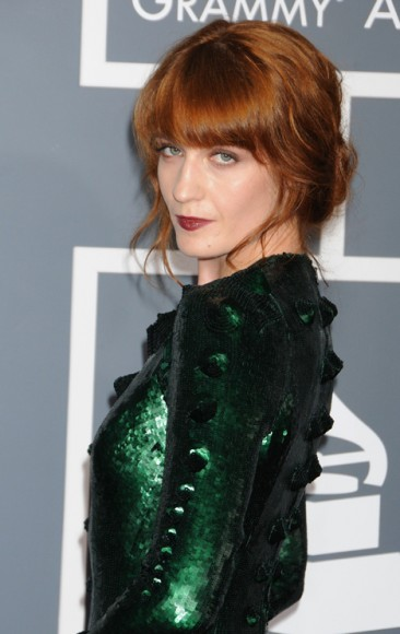Florence Welch at the 55th Annual Grammy Awards