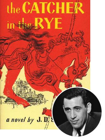 Salinger's 1951 novel, 'Catcher in the Rye'