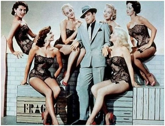 Marlon Brando in 'Guys and Dolls'. 1955