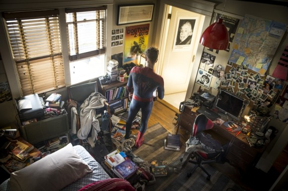 amazing spider man 2 peters room