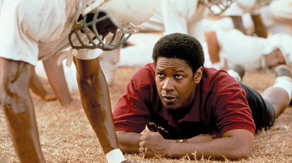 Denzel Washington as Coach Herman Boone in 'Remember the Titans'