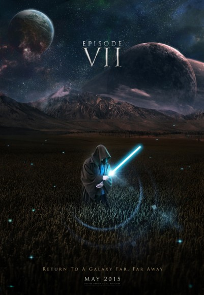 A fan-made poster for Episode VII