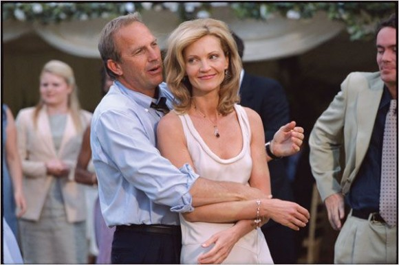 Kevin Costner, seen here with co-star Joan Allen in 2005's 'The Upside of Anger'