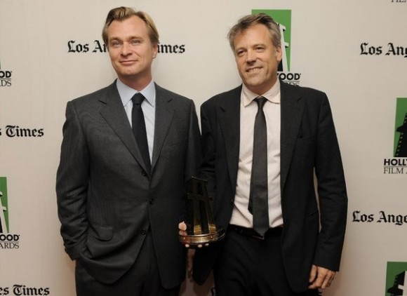 Christopher Nolan (left) and his longtime cinematographer Wally Pfister