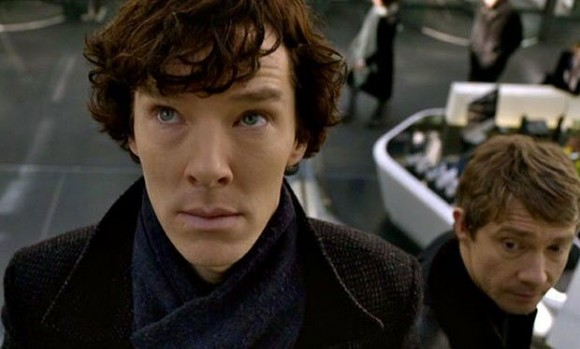 Benedict Cumberbatch, seen here as Sherlock Holmes in the BBC series 'Sherlock'