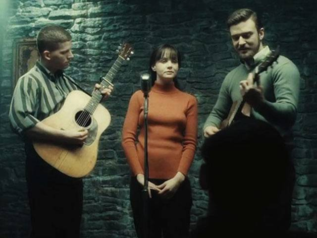 Carey Mulligan and Justin Timberlake are folk singers in 'Inside Llewyn Davis'.