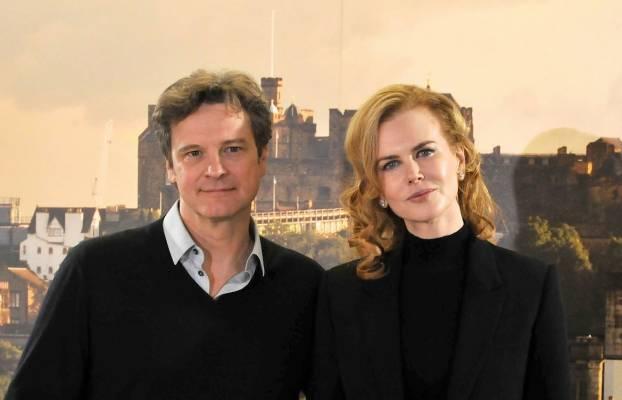 Colin Firth and Nicloe Kidman star in 'The Railway Man'