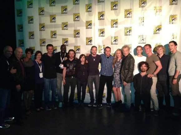 Most of the cast of 'X-Men: Days of Future Past' on hand recently at Comic-Con