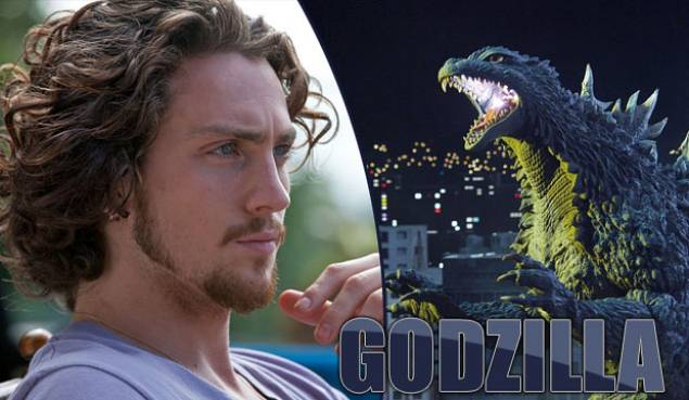 Aaron Taylor-Johnson stars in the reboot of the 'Godzilla' franchise.