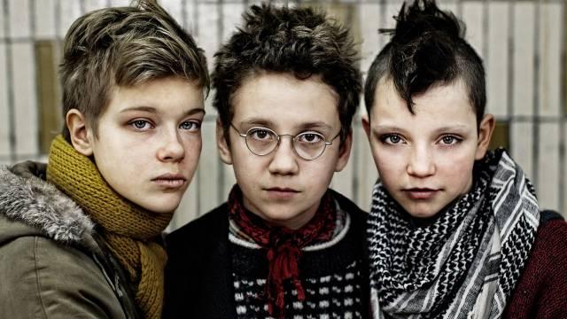 Mira Barkhammar, Liv LeMoyne and Mira Grosin of 'We Are The Best'