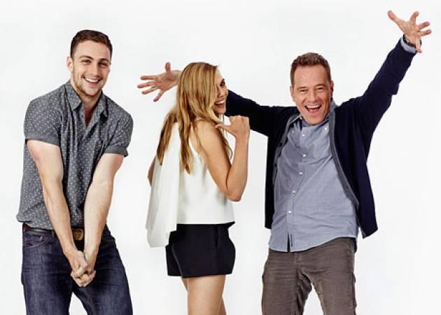 Aaron Taylor-Johnson, Elizabeth Olsen, Bryan Cranston