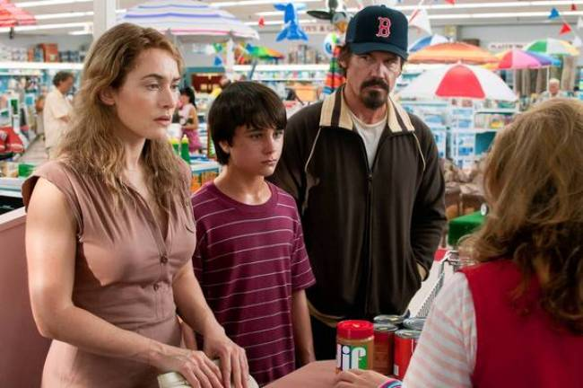 """Kate Winslet, Gattlin Griffith and Josh Brolin in """"Labor Day'."""