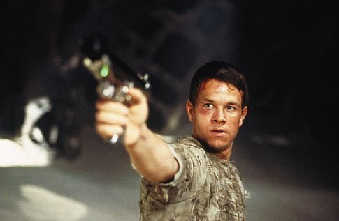 Mark Wahlberg in the 2001 'Planet of the Apes' Reboot