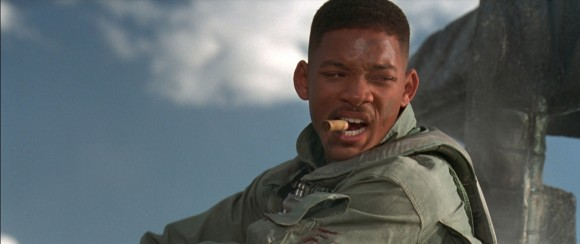 Will Smith in the 1996 film 'Independence Day'