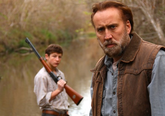 Nicholas Cage and Tye Sheridan in 'Joe'