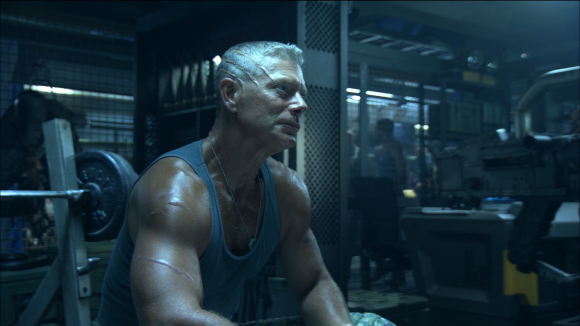 Stephen Lang as Colonel Quaritch in 'Avatar'