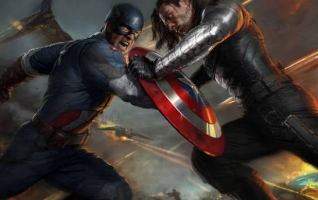 'Captain America: The Winter Soldier' concept art.