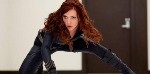 Scarlet Johansson is the Black Widow