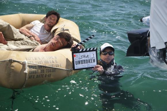 Publicity Stills Photography on the Set of NBC Universal's Movie 'Unbroken'