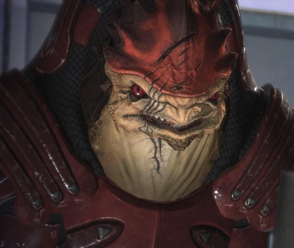 """Will Protosevich miss working on 'Mass Effect'? """"I'll miss Wrex"""""""