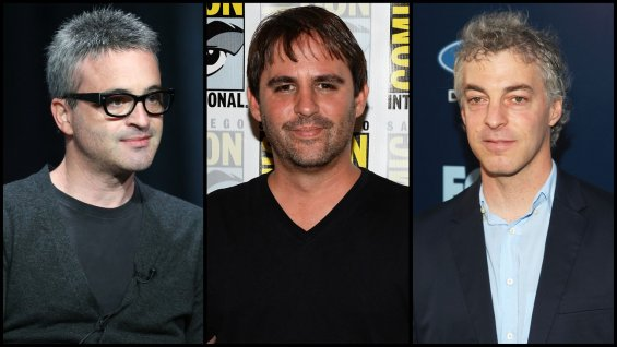 L to R: Alex Kurtzman, Roberto Orci, Jeff Pinkner