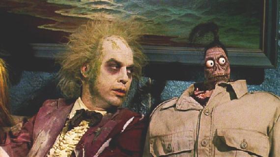 Michael Keaton as 'Beetlejuice'