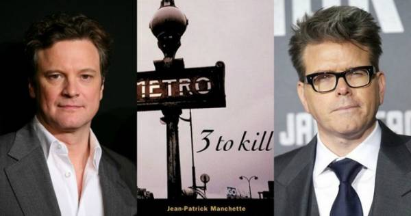 Colin Firth will star,and Christopher McQuarrie will direct 'Three To Kill'